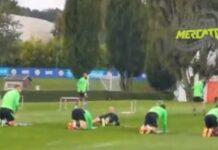 VIDEO CM.IT | Shakhtar Inter, rifinitura nerazzurri: ci sono Correa e Vidal