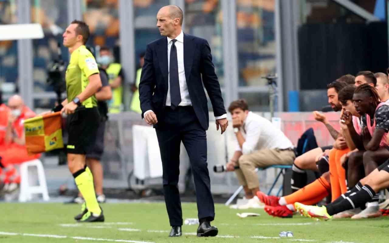 Juventus, Allegri nel mirino di Adani