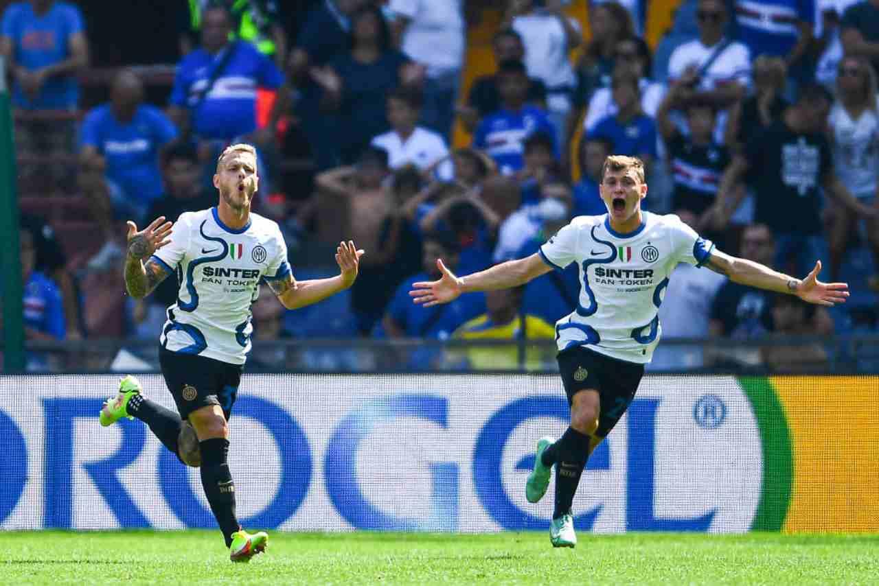 """Polemiche sul gol di Dimarco: """"Punizione inventata"""""""
