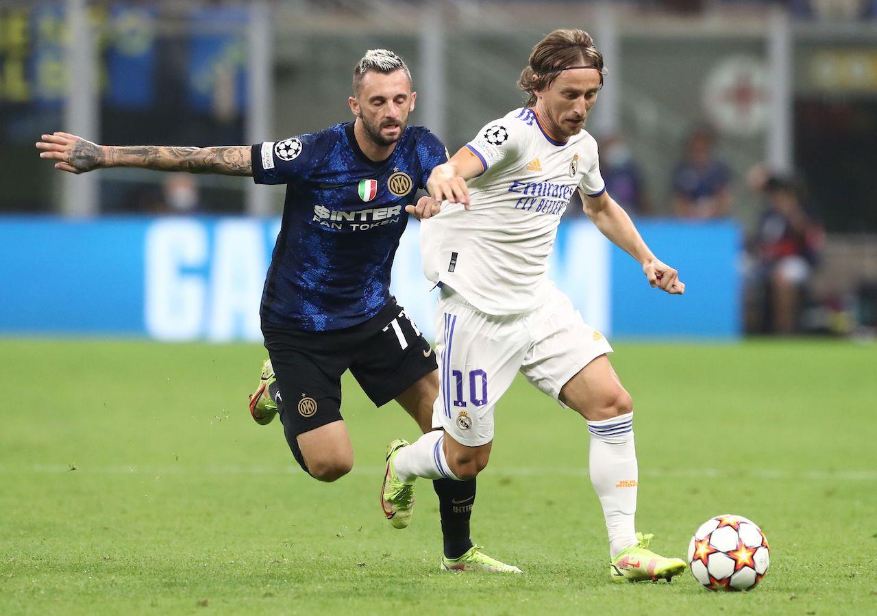 Inter Real Madrid Brozovic Modric