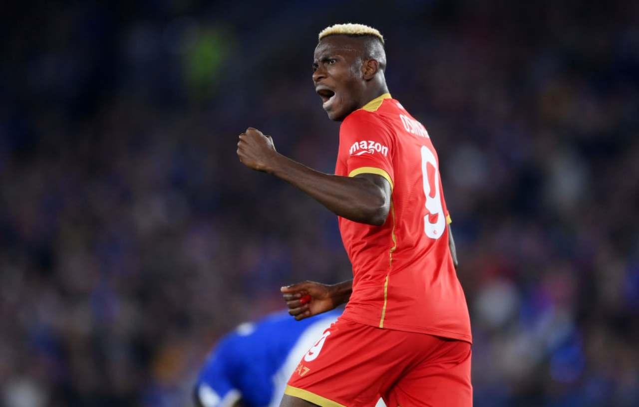 La Roma sa solo vincere, cinquina al CSKA Sofia! Osimhen salva il Napoli