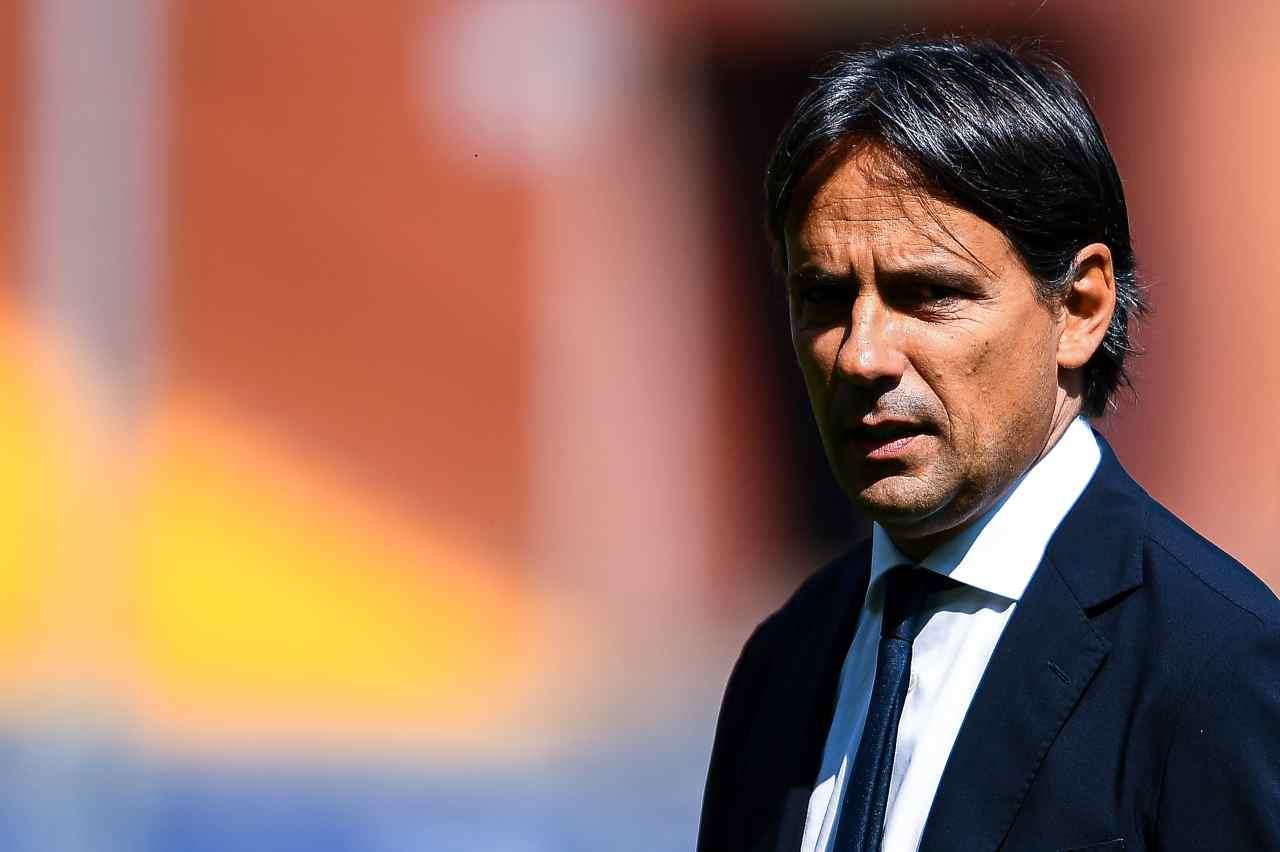 Inzaghi e le critiche a Dzeko e Handanovic durante Sampdoria-Inter