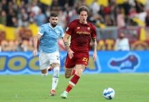 Lazio-Roma, rigore su Zaniolo? Tifosi furiosi