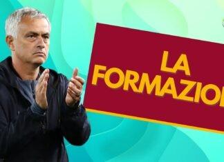 La formazione della Roma nel derby