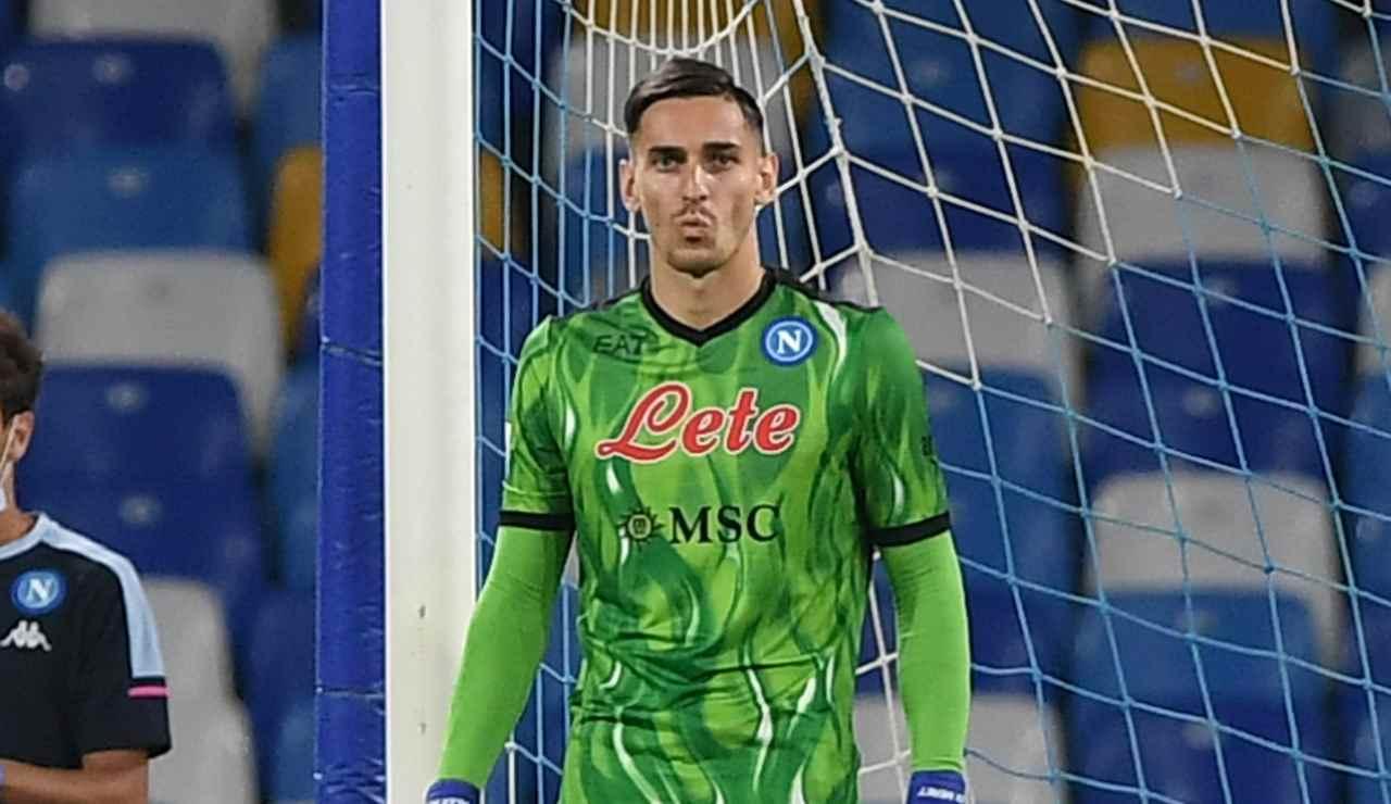 Napoli-Juve, Meret ko e Ospina in Nazionale: la mossa di De Laurentiis
