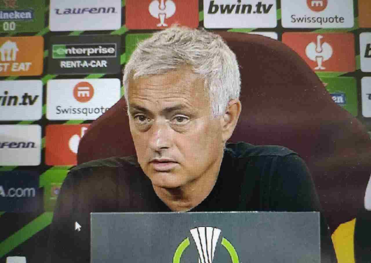 Roma-Cska Sofia, la conferenza stampa di Mourinho