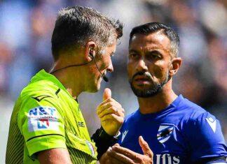 Spunta il labiale di Orsato   Polemiche su Sampdoria-Inter