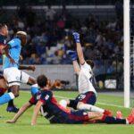 Napoli-Cagliari, gol Osimhen