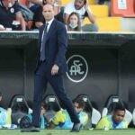 Spezia-Juventus, Allegri al Picco