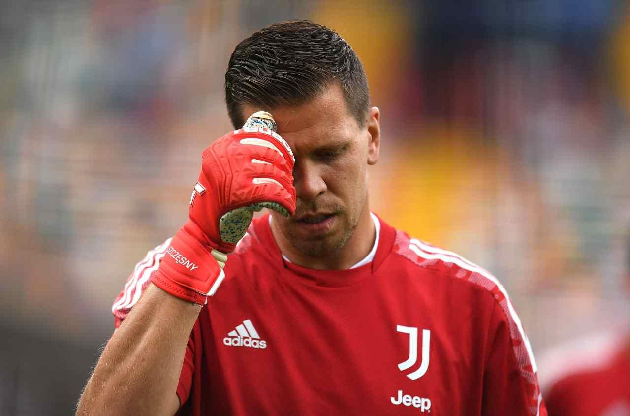 """Juventus, problema Szczesny evidente: """"È iniziato tutto da qui"""""""
