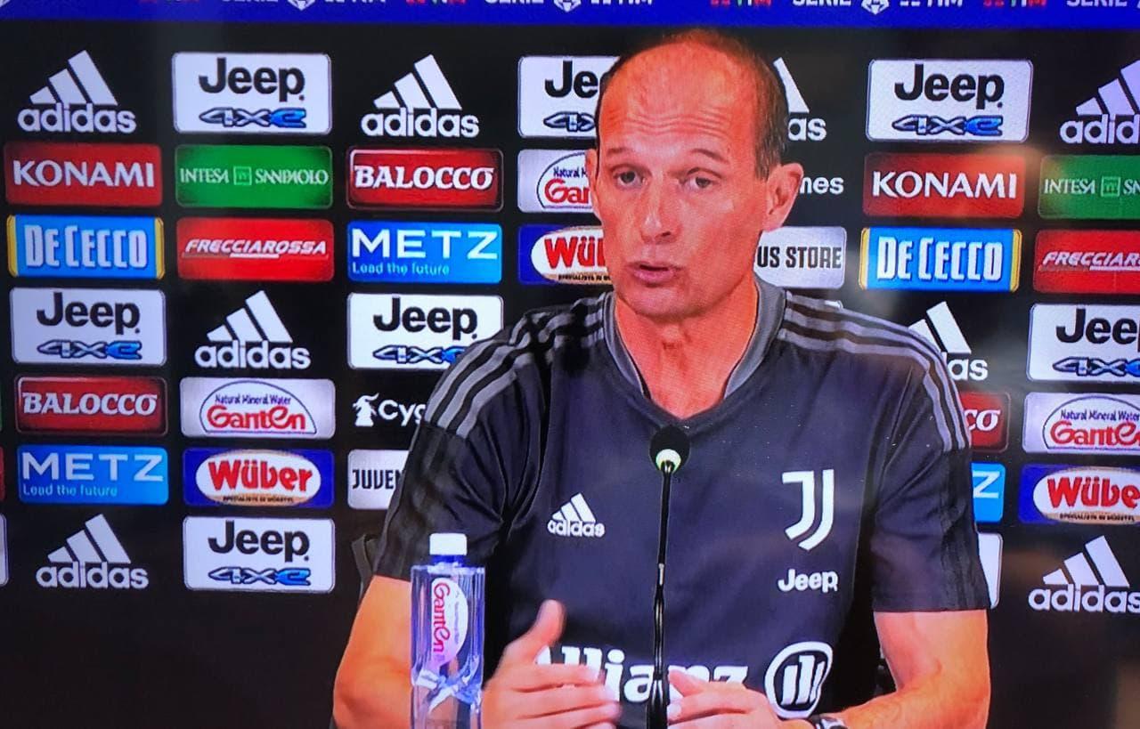 Juventus Sampdoria, conferenza Allegri: le dichiarazioni del tecnico