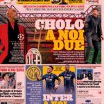 La Gazzetta dello Sport, la prima pagina del 28 settembre