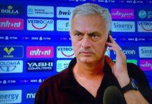 """Verona-Roma, Mourinho: """"Giocato male, Zaniolo doveva abbassarsi"""""""