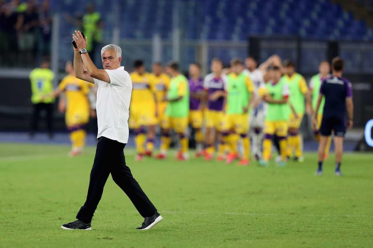 mourinho roma tifosi