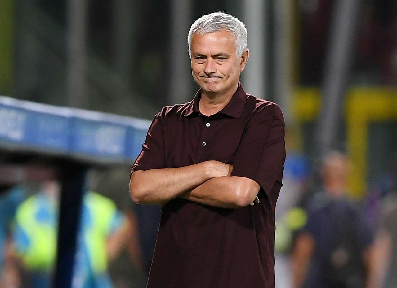 mourinho verona roma formazione