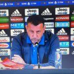 """Juventus-Sampdoria, D'Aversa spiega l'esclusione di Damsgaard: """"Non è una bocciatura"""""""