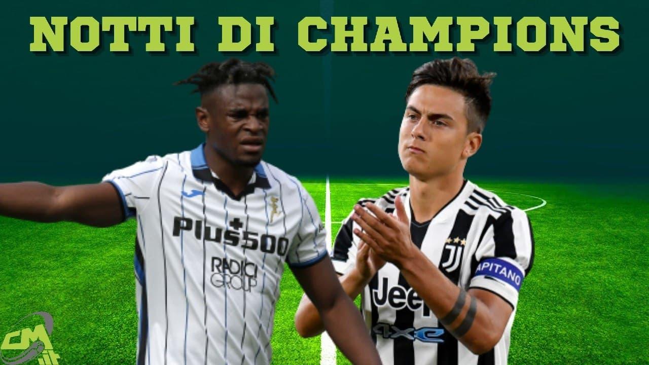 diretta cmit tv champions juventus atalanta