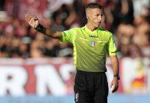 Serie A, gli arbitri della nona giornata