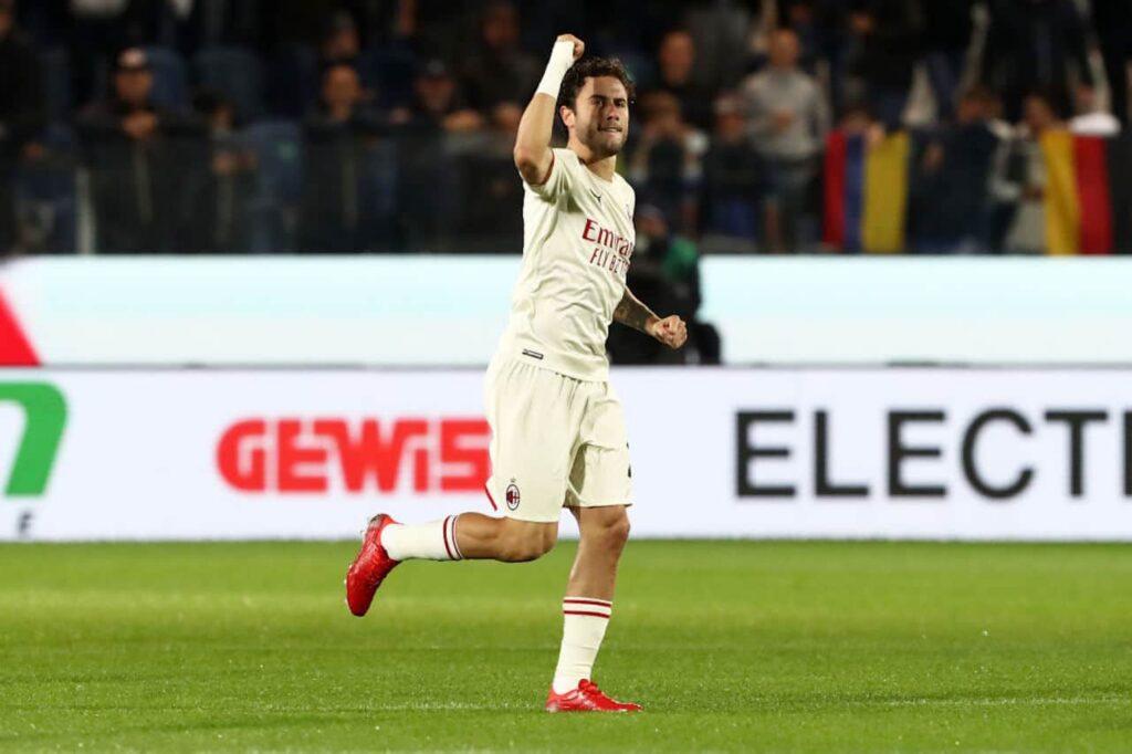 Davide Calabria voti Atalanta Milan
