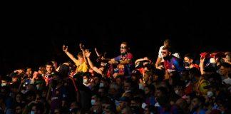 Barcellona, Koeman contestato