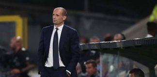 Inter-Juventus, critiche per Allegri
