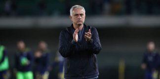 Roma-Napoli, ammonizione Mourinho