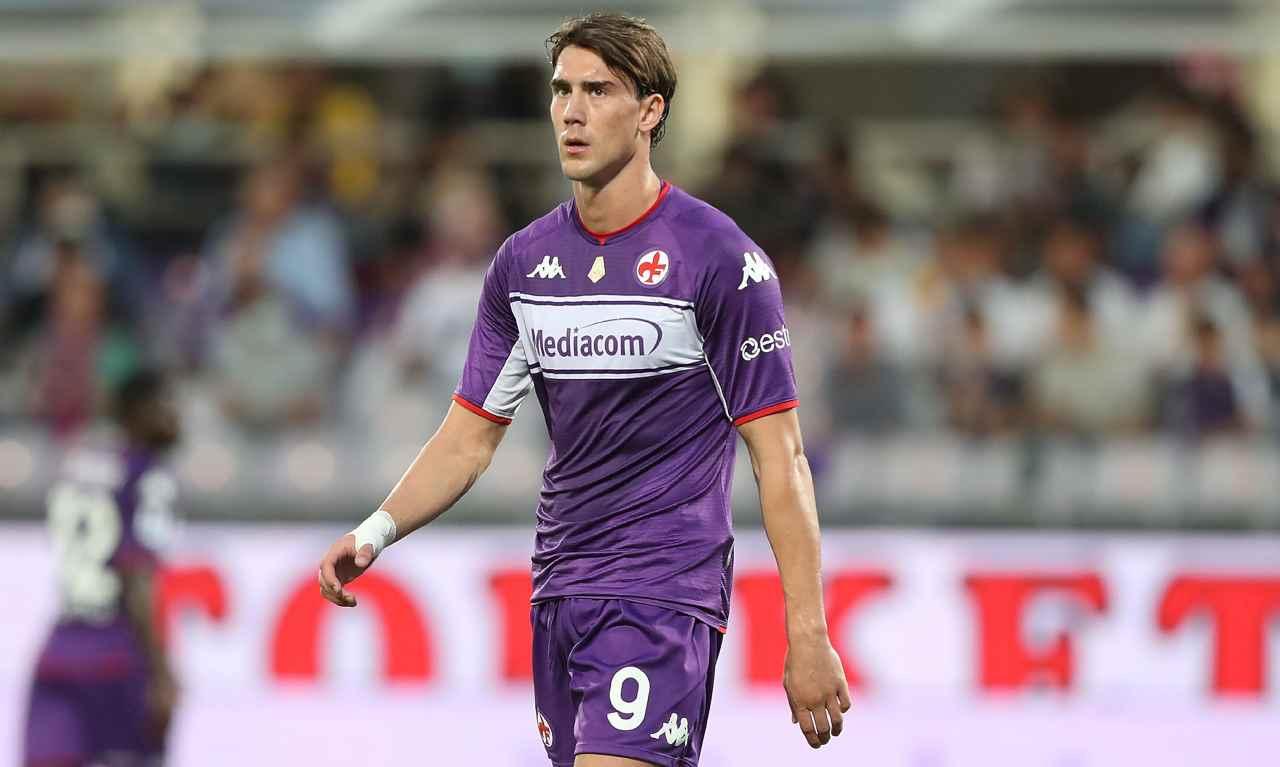 """Critiche dell'ex Fiorentina su Vlahovic: """"Si nasconde dietro ad un dito"""""""