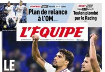 L'Equipe, la prima pagina di oggi 17 ottobre 2021
